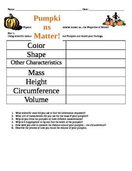 Pumpkins Matter!