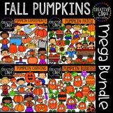 Pumpkins Mega Bundle: Fall Clipart {Pumpkin Clipart}