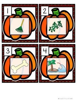 Pumpkins: Mini Word Work for CVCE Words