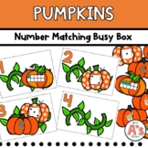 Pumpkins Number Matching Puzzles Busy Box
