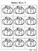 Pumpkins Number Mazes ~ Math Games ~ Math Centers