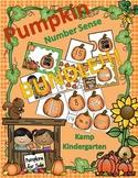 Pumpkins Number Sense Math Centers Bundle