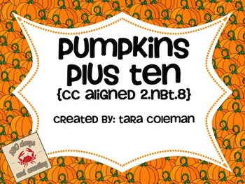 Pumpkins Plus Ten FREEBIE