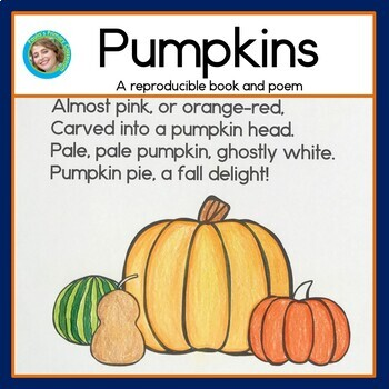 Pumpkins Poem Sight Word Reader