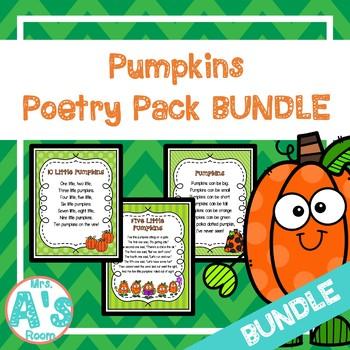 Pumpkins Poetry Packs **BUNDLE**