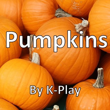 Pumpkins -- PowerPoint Presentation -- Editable