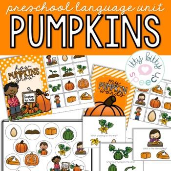 Pumpkins Preschool Language Unit