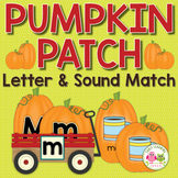 Pumpkin Alphabet and Beginning Sound Activity for Preschool Pre-K and Kinder