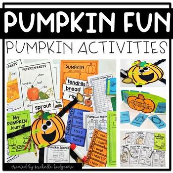 Pumpkins, Pumpkin Activities,Parts of a Pumpkin, Pumpkin Life Cycle,Pumpkin Unit