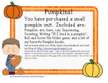 Pumpkins Pumpkins!!