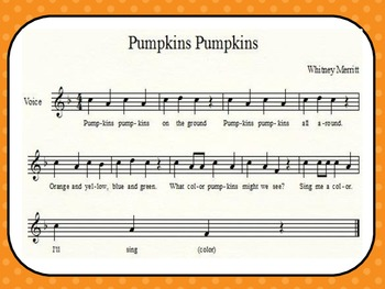 Pumpkins Pumpkins - Halloween Activity Song