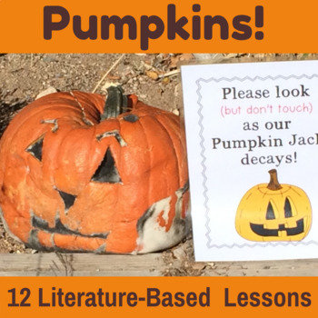 Pumpkin Unit {CCSS Integrated Math, ELA, Reading, Writing,