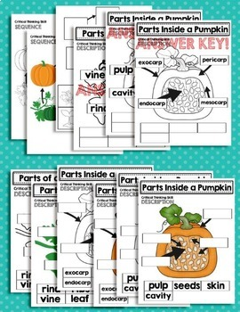 Pumpkins, Pumpkins, Pumpkins - a Science and Critical Thinking Unit for Primary