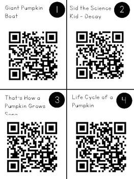 Pumpkins QR Code Exploration