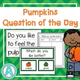 Pumpkins Question of the Day