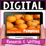 Pumpkins Research and Writing Google Slides