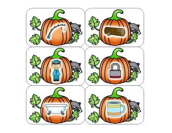 Pumpkins Rhyming Matchups