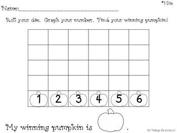 Pumpkins Roll, Count, Color
