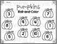 Pumpkins Roll and Color - Halloween Freebie
