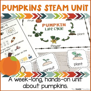 Pumpkins STEAM Unit | Science Centers for Primary Grades