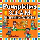 Pumpkins. STEM and STEAM Interactive Activities.