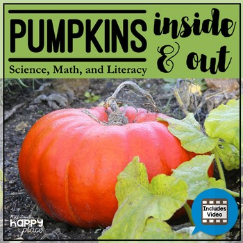 Pumpkins Non-Fiction Unit with PowerPoint, Printables, and Video