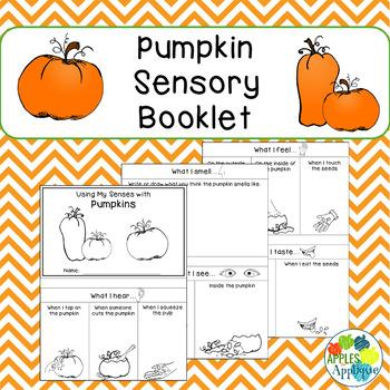 Pumpkins Sensory Booklet