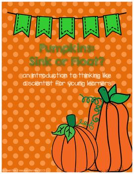 Pumpkins Sink or Float Experiment