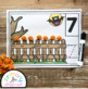 Pumpkins Sitting On A Gate Counting Mats 1 - 20