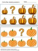Sort by Size Pumpkins Cut and Paste Kindergarten Math Special Education Math