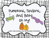Pumpkins, Spiders, and Bats, Oh MY!