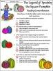 Pumpkin Activities: Spookley the Square Pumpkin Activity Bundle - Color & B/W