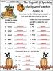Pumpkin Activities: Spookley the Square Pumpkin Book Activ