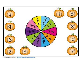 Pumpkins Subtracting 9 Bump
