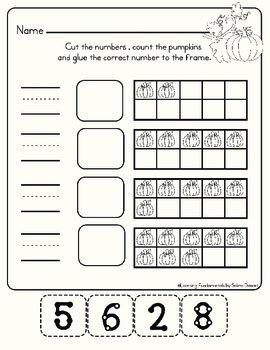 Sums of 10 Math Activities - Fall Pumpkins!