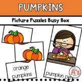 Pumpkins Task Box   Picture Puzzles Activity