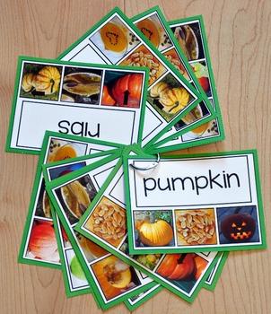 Pumpkins Task Cards
