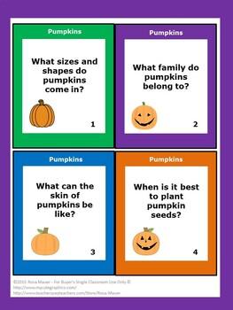The Pumpkin Book Gail Gibbons Book Unit