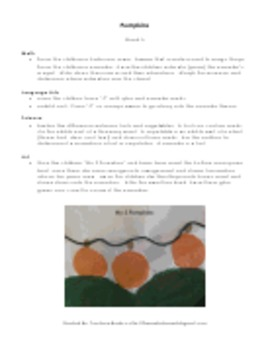 Pumpkins: Fun Lessons to Teach Children About Pumpkins (45 pages)