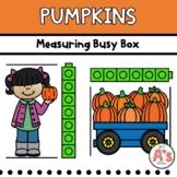 Pumpkins Theme Task Box   Nonstandard Measurement Activity