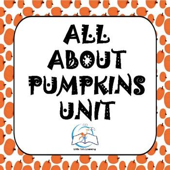 Pumpkins Unit - All About Pumpkins Unit