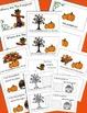 Pumpkins, Emergent Reader, Positional Words, Fall Activities, Thanksgiving