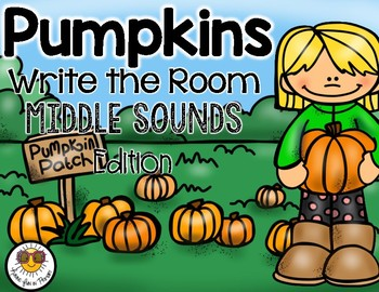 Pumpkins Write the Room - Middle Sounds Edition