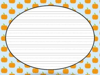 Fall Pumpkin Imaginative Narrative Pumpkins Writing Prompt