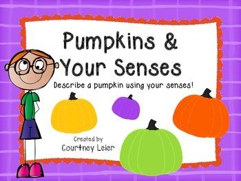 Pumpkins & Your Senses - October Activities