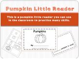 Pumpkins - an emergent reader