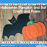 Halloween Pumpkin and Bat Poems and Crafts