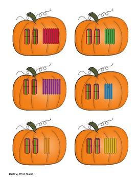 Pumpkins and Fall Counting and Cardinality Activities