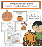 Pumpkins in the News: Writing Prompts & Emergent Reader