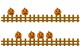 Pumpkins on a Gate Counting and Matching Sets w/ Numbers